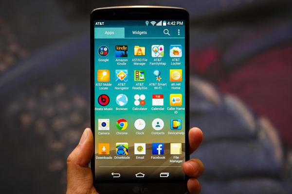Trên tay LG L3 chính hãng