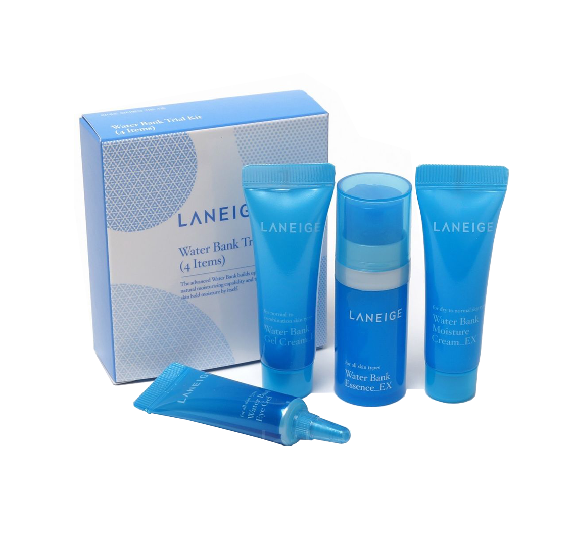 Laneige Bộ Water Bank Trial Kit