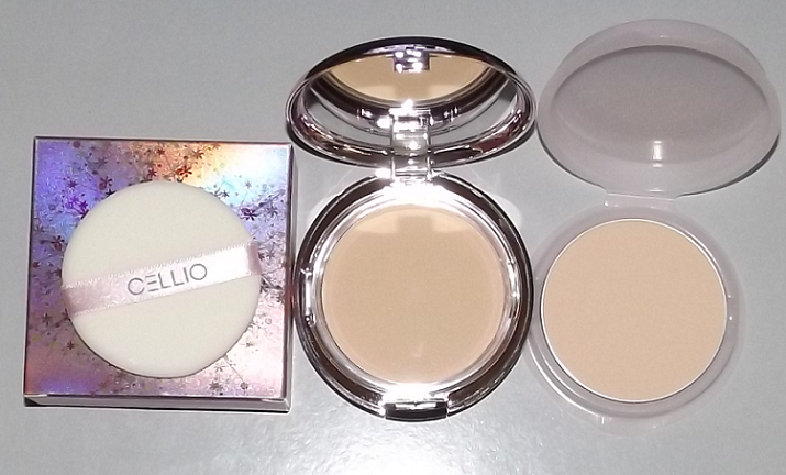 Phấn nén CELLIO Shining Powder Pact SPF 36PA ++