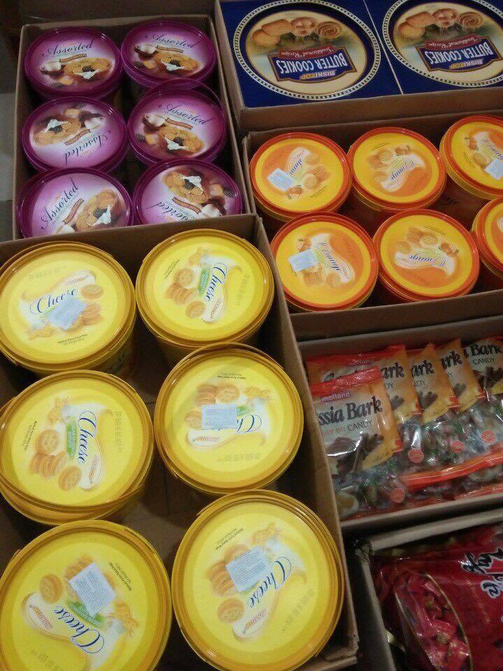 Bánh kẹo thái lan