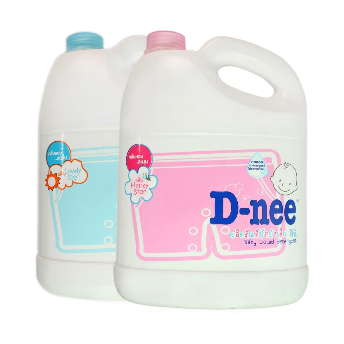 Nược giặt xả Dnee