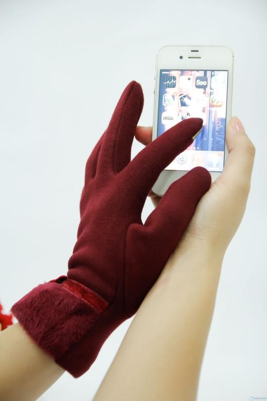 Găng tay cảm ứng dành cho smartphone