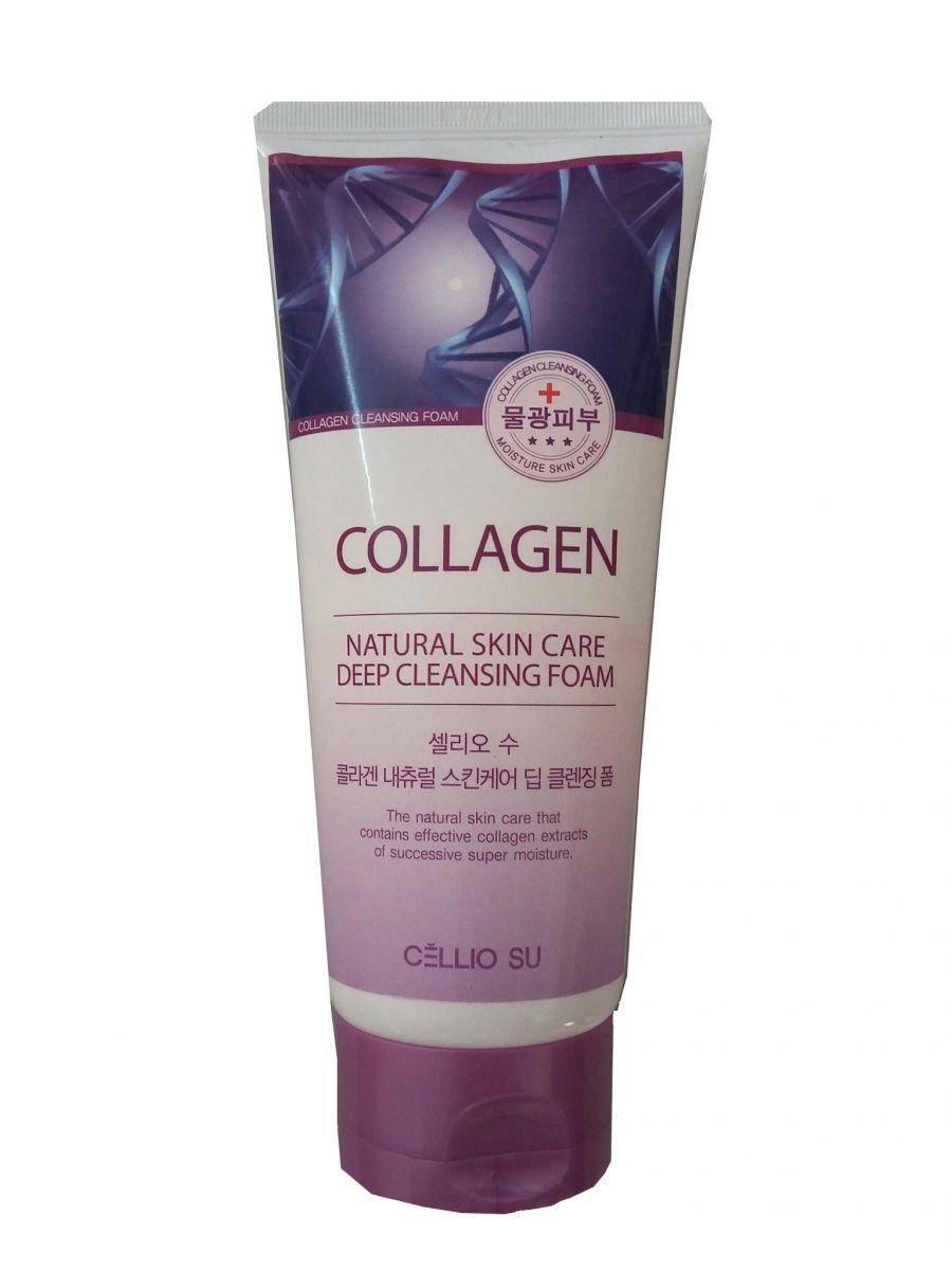 Sữa rửa mặt Cellio Collagen