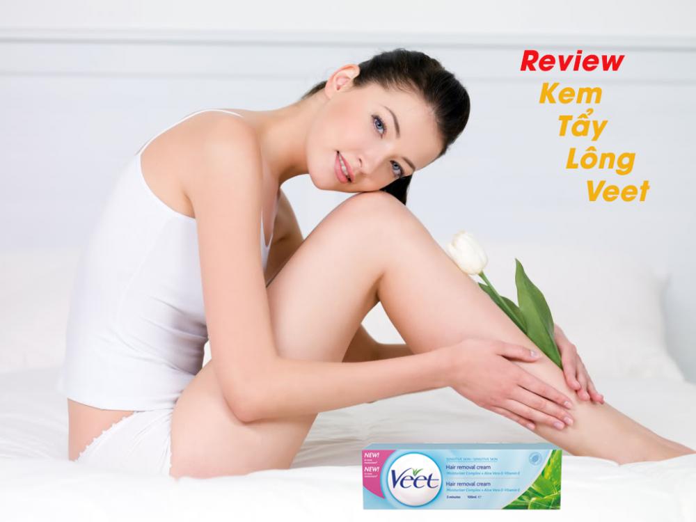 Review kem tẩy lông Veet nhập khẩu
