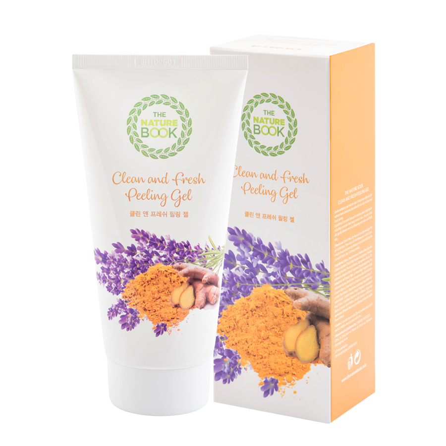 Tẩy da chết The Nature Book Clean And Fresh Peeling Gel