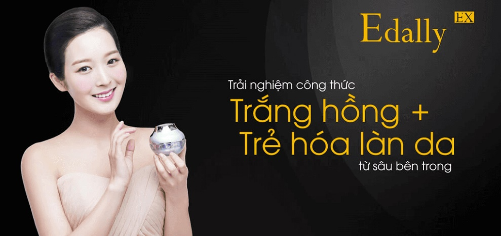 Kem dưỡng da Edally Luxury Whitening Cream