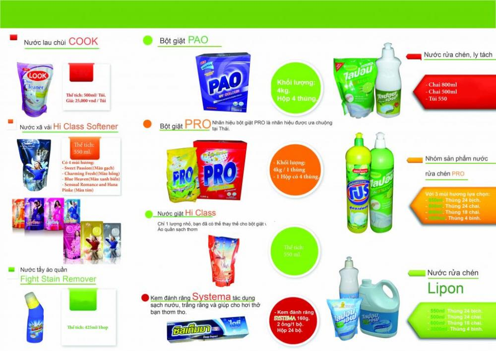 Địa chỉ bán buôn hàng tiêu dùng Thái Lan