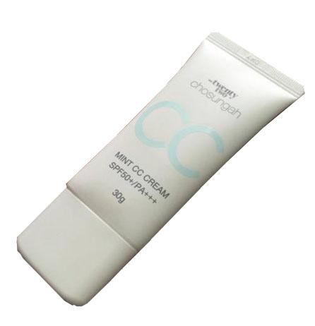 Kem Mint CC Cream SPF50+ PA+++  Chosungah 22 có tốt không  ?