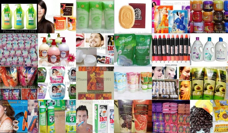 Hàng tiêu dùng Thái Lan bán buôn tại Hà Nội